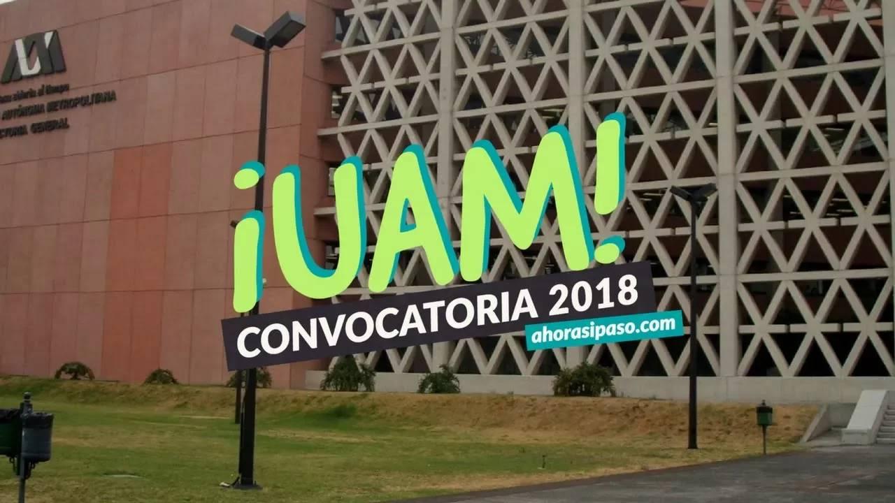 Calendario UAM | Primer proceso de selección 2018