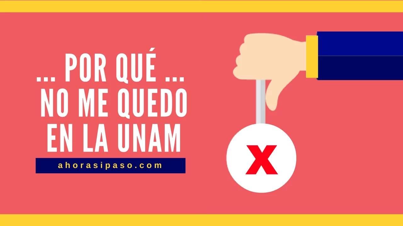 Rechazados UNAM | Ingreso a Nivel Licenciatura
