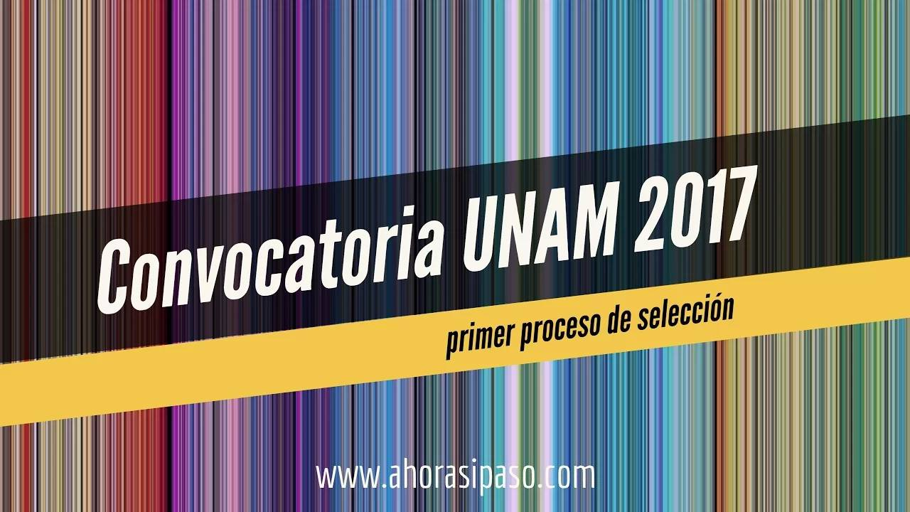 Calendario UNAM | Ingreso 2017