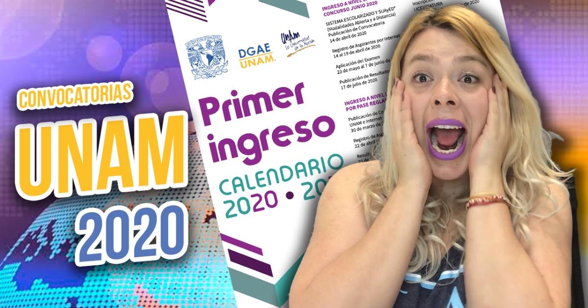 Convocatorias UNAM (Fechas oficiales) | Calendario 2020-2021